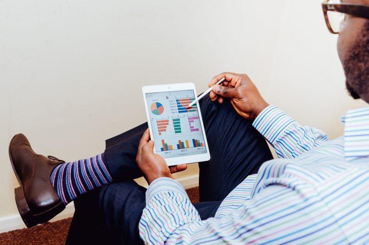 analiza marketingu na tablecie
