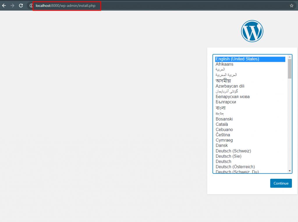 Instalacja strony WordPress